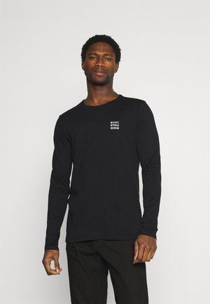 LONG SLEEVE SMALL LOGO - Longsleeve - black