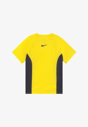 DRY - T-shirt z nadrukiem - opti yellow/gridiron