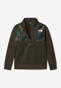 The North Face - B SURGENT 1/4 ZIP - Sweatshirt - new taupe green - 2