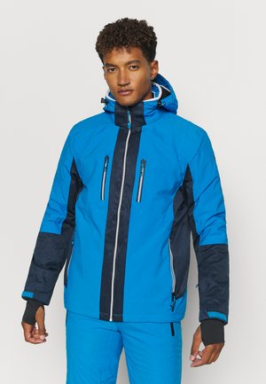 SAVOGNIN SKI - Ski jacket - himmelblau