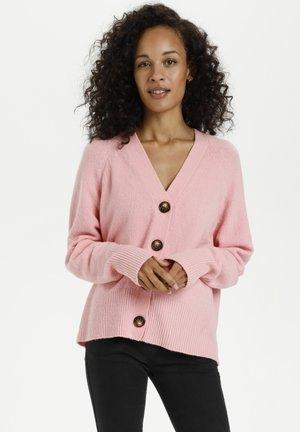 Cardigan - candy pink