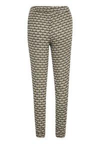 Kaffe - ROKA AMBER PANTS - Trousers - grape leaf  fan print - 4