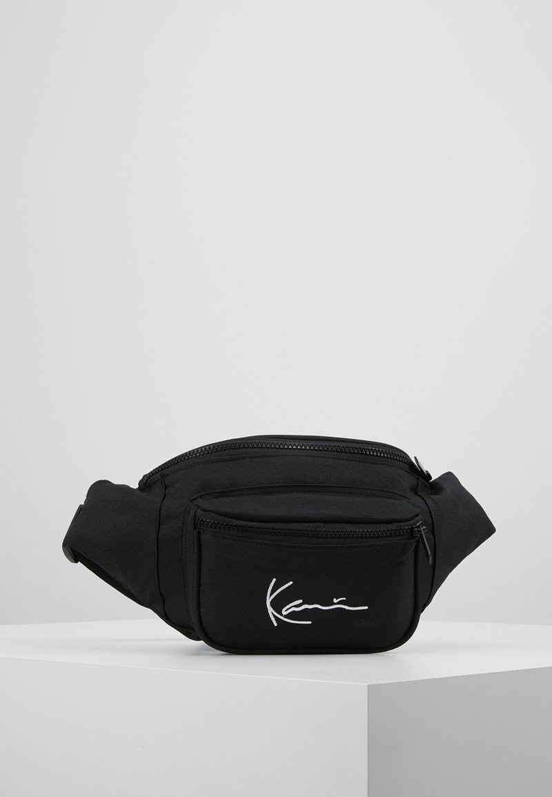 Karl Kani - SIGNATURE WAIST BAG - Ledvinka - black