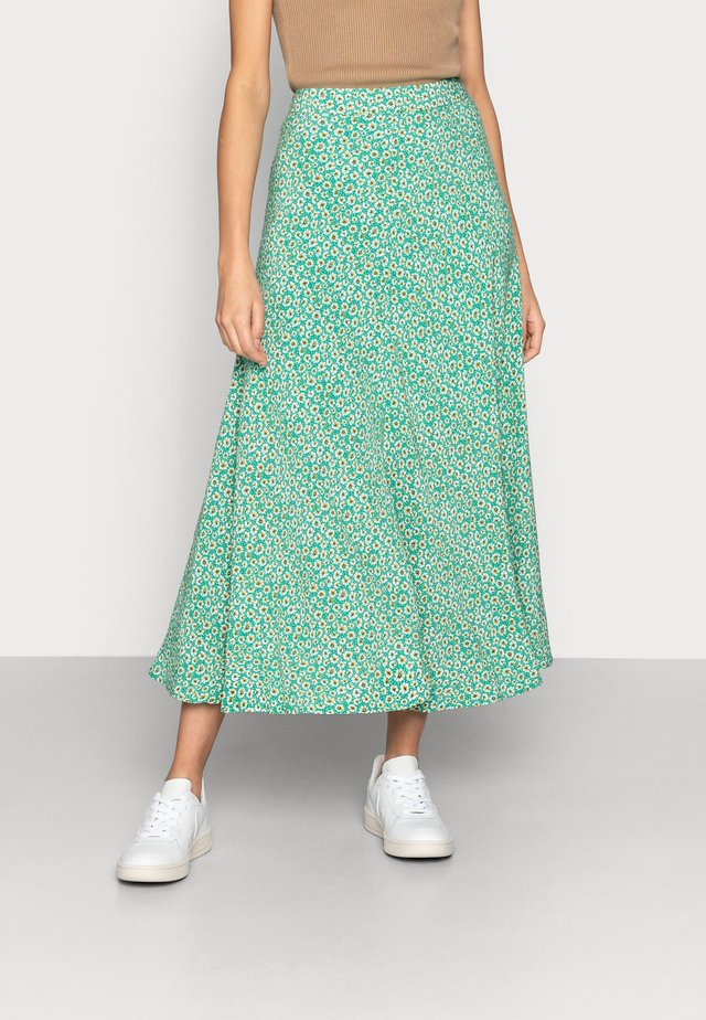 SKIRT FIELD FLOWER - A-line skirt - green