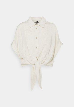 YASVIRO TIE SHIRT - Camisa - eggnog