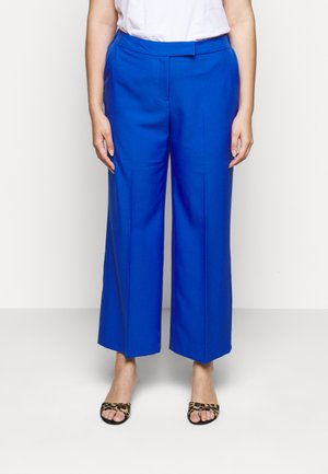ESSENTIAL WIDE LEG TROUSER - Trousers - blue