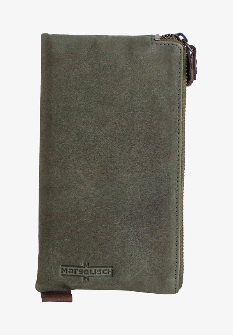 Margelisch - LONDON  - Wallet - mud green