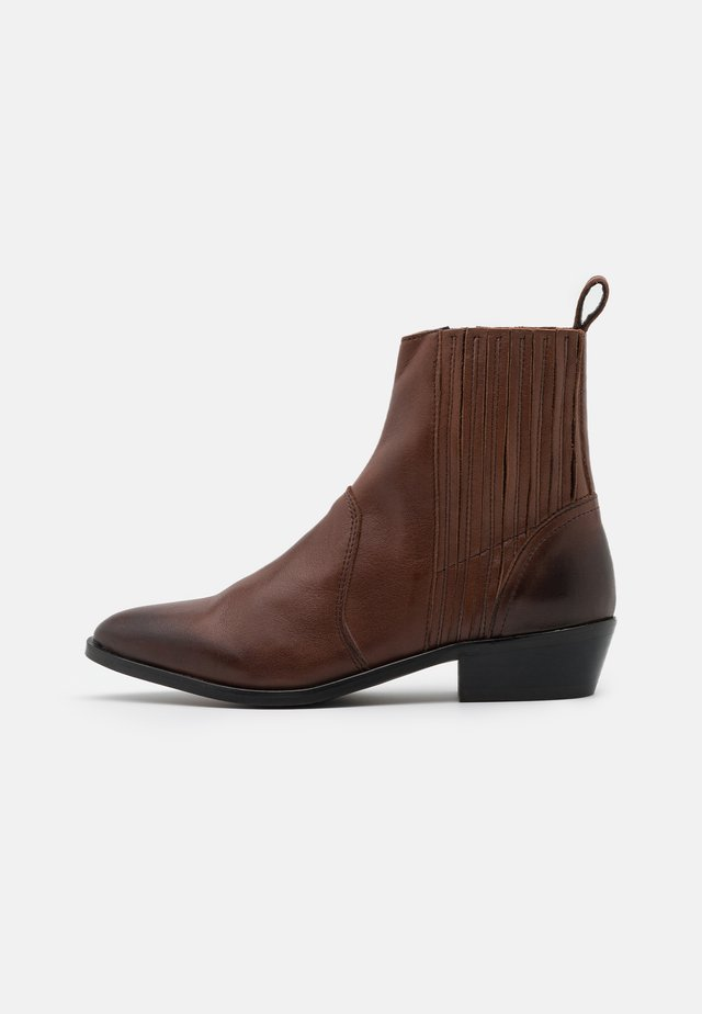 YASSALTA BOOTS - Classic ankle boots - brown stone