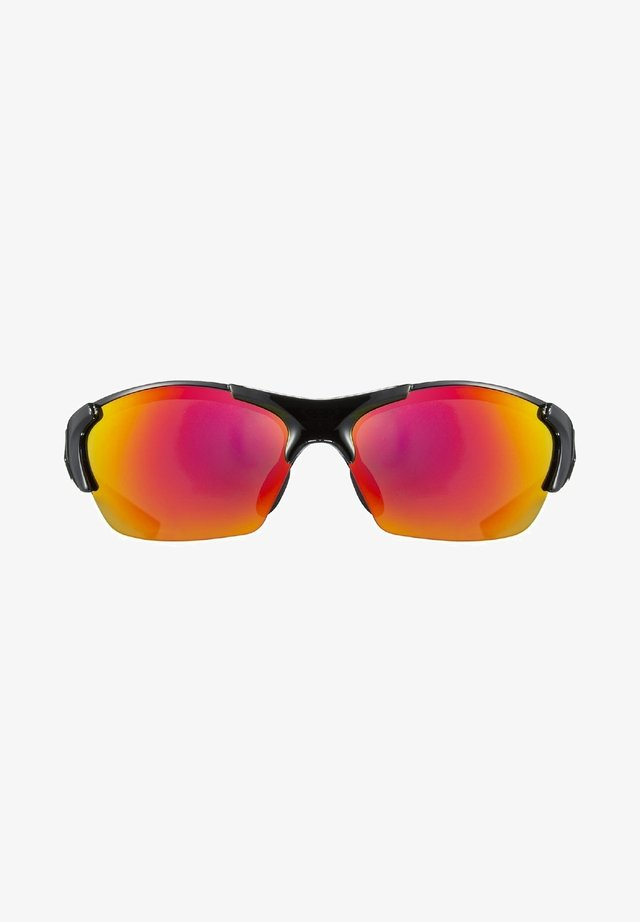 blaze III - Sports glasses - black red