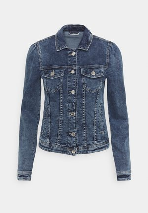 ONLTIA LIFE JACKET - Denim jacket - medium blue denim