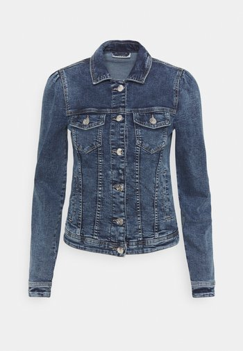 ONLTIA LIFE JACKET - Jeansjakke - medium blue denim