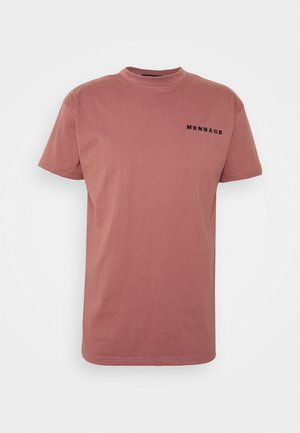 ESSENTIAL REGULAR UNISEX - Camiseta estampada - pink