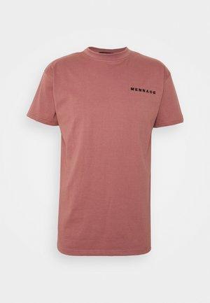 ESSENTIAL REGULAR UNISEX - Print T-shirt - pink