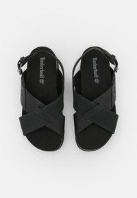 Timberland - SANTA MONICA SUNRISE X BAND - Platform sandals - black - 5