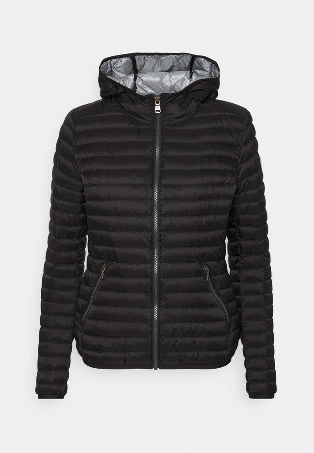 LADIES JACKET - Down jacket - black/light steel