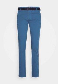 CLASSIC STRETCH BELT - Chinos - aqua blue