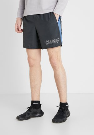SHORT - Sports shorts - dark smoke grey/silver