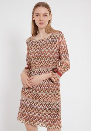 ZALY - Gebreide jurk - multi-coloured