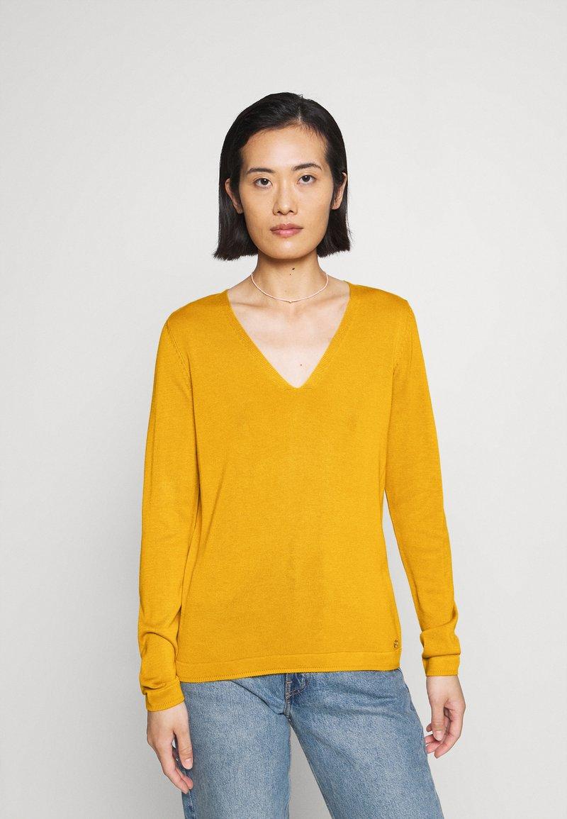 s.Oliver - Jersey de punto - yellow