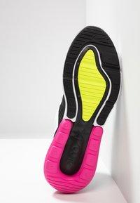 Nike Sportswear - AIR MAX 270 - Trainers - white/volt/black/laser fuchsia - 4