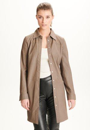 MAREN - Button-down blouse - stone