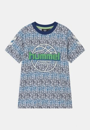 HEAT UNISEX - T-shirts print - estate blue