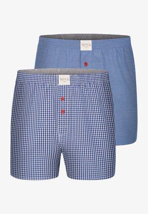 2-PACK 'CLASSICS' - Boxershort - blau