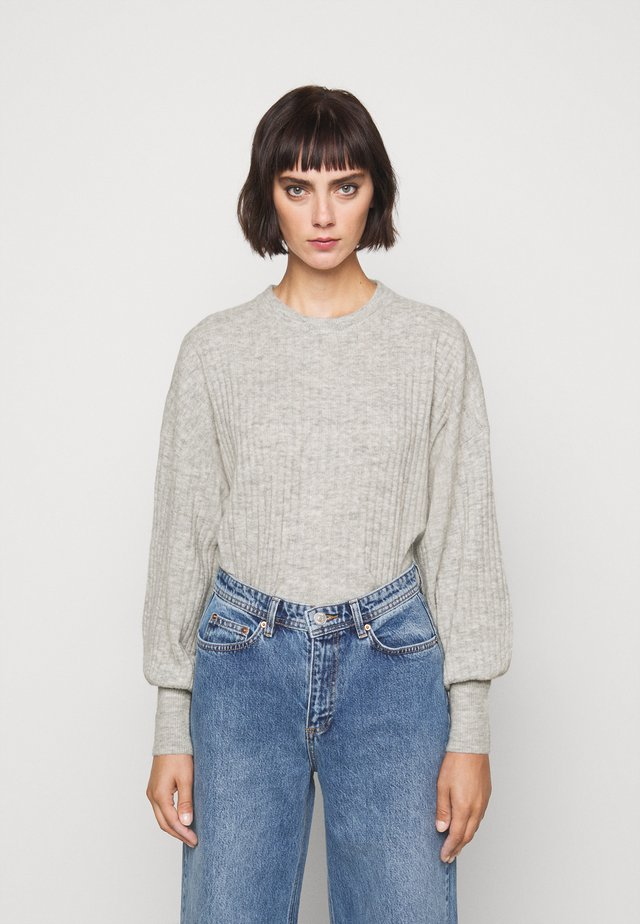 BLAKELY O NECK - Pullover - papyrus