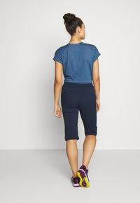Jack Wolfskin - ACTIVATE LIGHT 3/4 PANTS - 3/4 sportovní kalhoty - midnight blue - 2