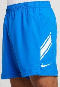 Nike Performance - DRY SHORT - Sports shorts - signal blue/white - 4