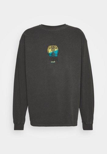 VOODOO TEE UNISEX - Långärmad tröja - washed black