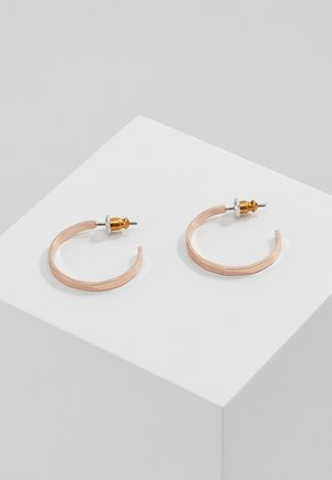 EARRINGS  - Earrings - rosegold-coloured