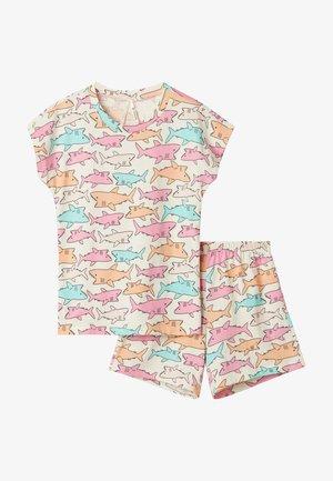 2 PACK - Pyjama - multifarben u latte st.squali