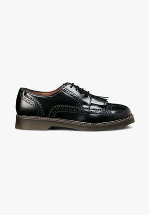 BROGUE - Lace-ups - schwarz