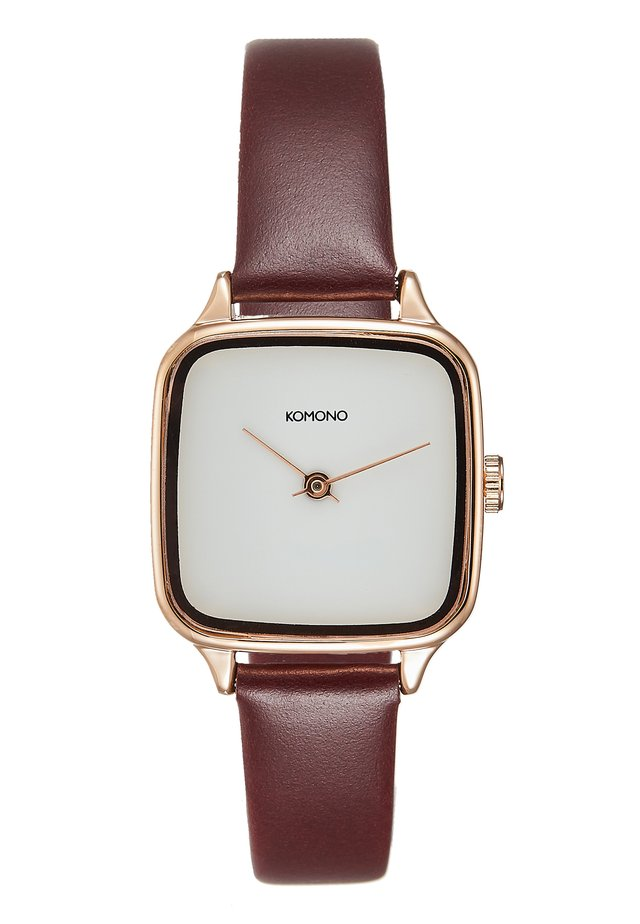 KATE - Horloge - rose gold/auburn
