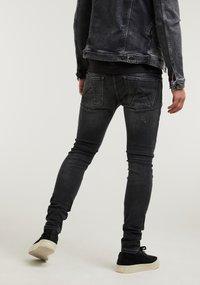 CHASIN' - EGO COLOMBO - Slim fit jeans - black - 2