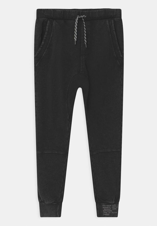TROUS  - Teplákové kalhoty - black beauty