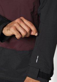 The North Face - SILVANI ANORAK - Ski jacket - bordeaux/black - 5
