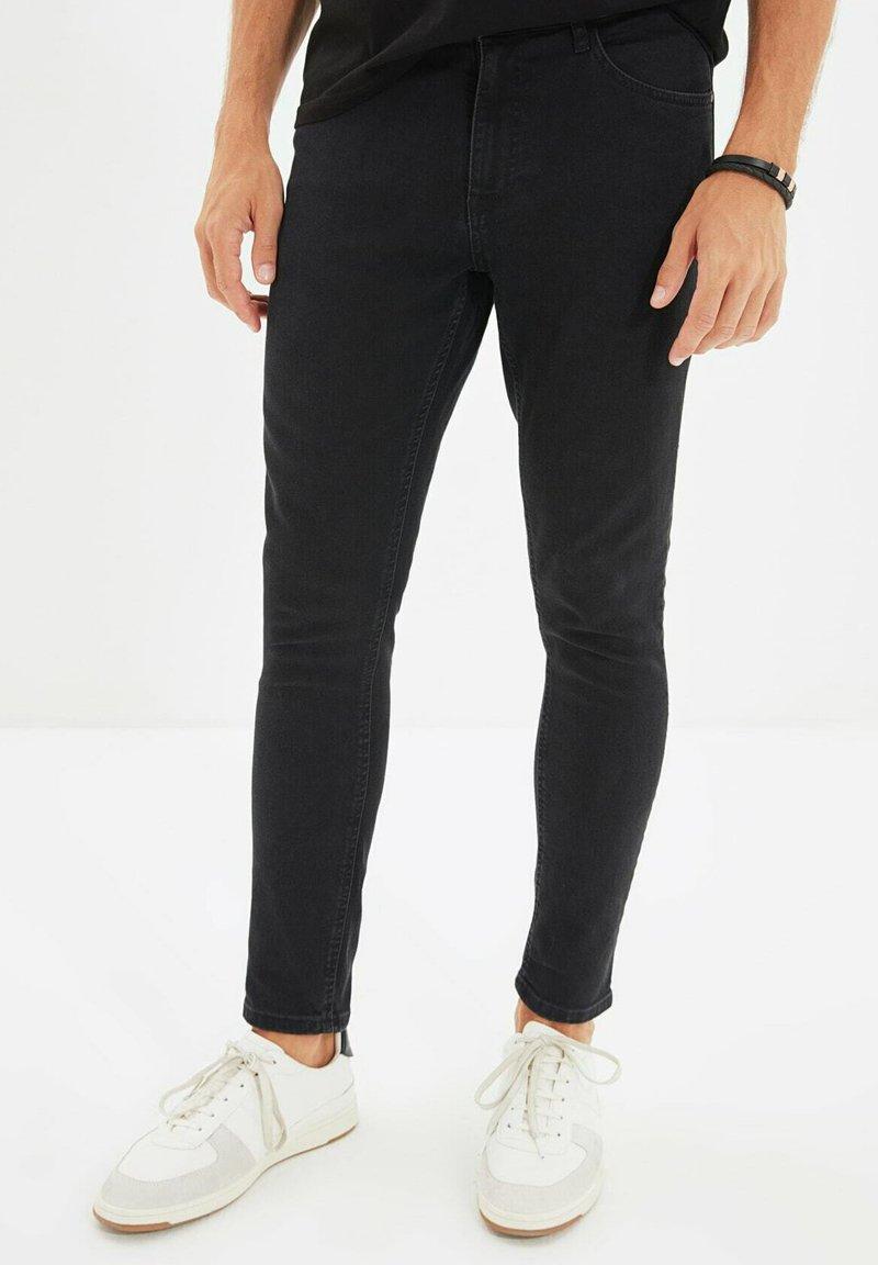Trendyol - PARENT - Jean slim - grey