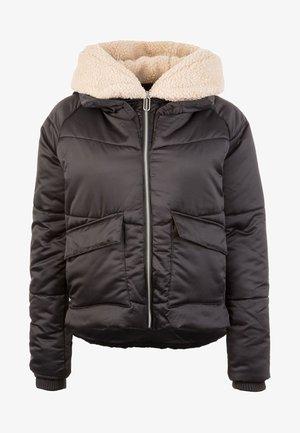 SHERPA  - Winter jacket - black/darksand