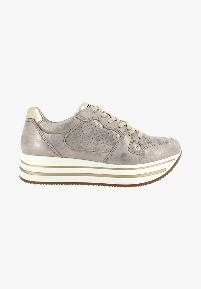Sneakers laag - taupe