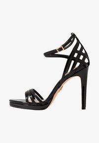 Buffalo - FIRA - High heeled sandals - black - 1