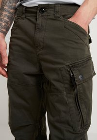 G-Star - ROXIC TAPERED FIT CARGO - Pantalones chinos - asfalt - 3