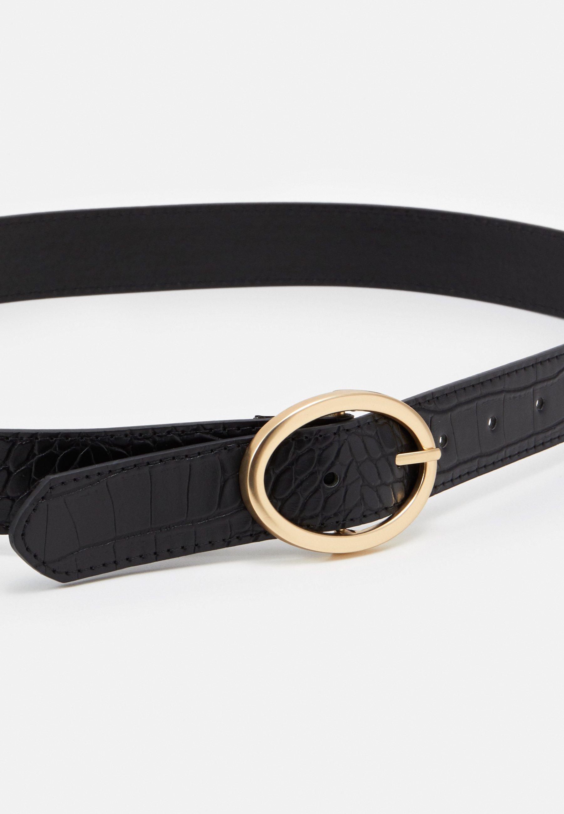 PARFOIS Belte - black/svart iKeWnsg2FpMqq20