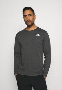 The North Face - MENS BOX TEE - Langærmede T-shirts - anthracite - 2