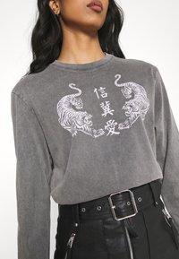 Even&Odd - Long sleeved top - black - 4