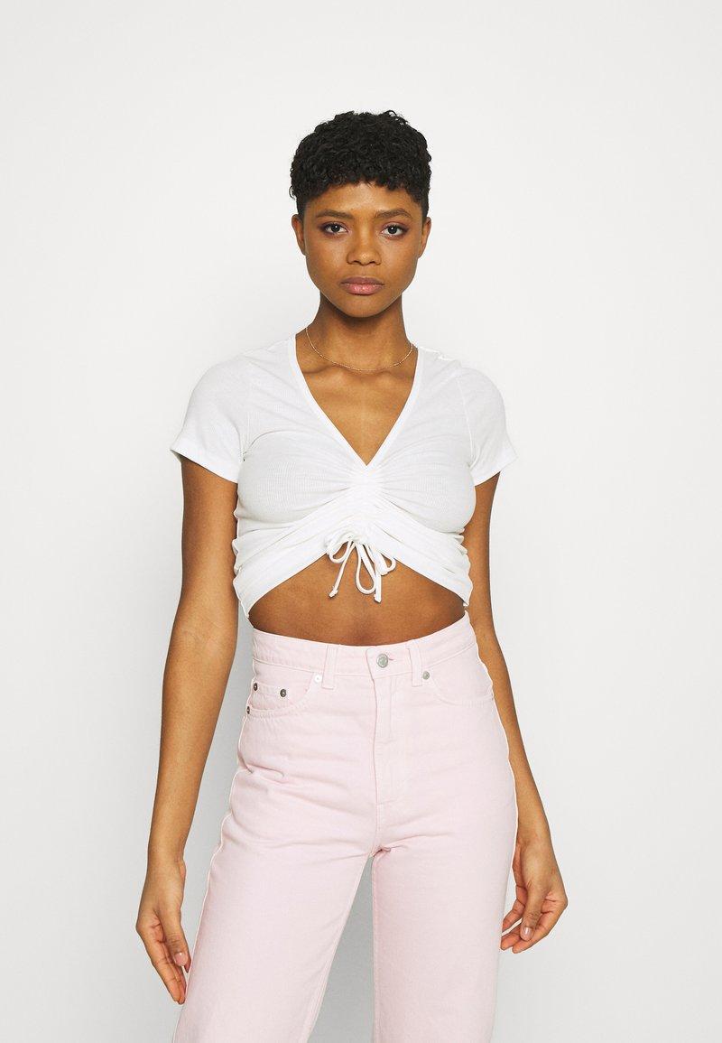 Pepe Jeans - FREJA - Print T-shirt - off white