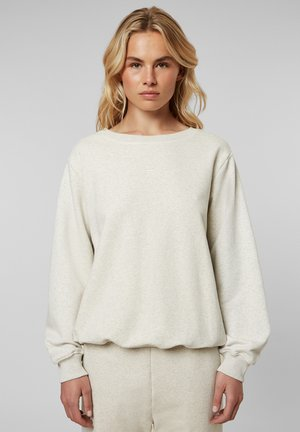 Sweater - soft white melee