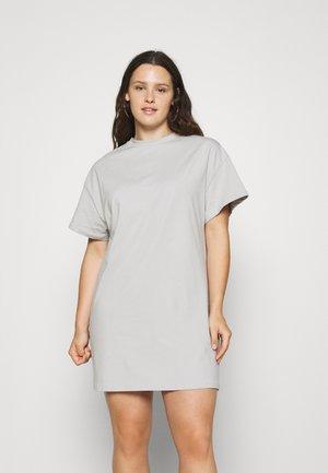 DRESS - Žerzejové šaty - grey