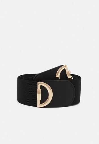 PCZASJA WAIST BELT KEY - Waist belt - black/gold-coloured